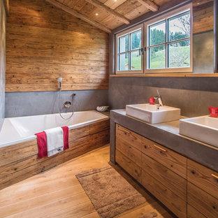 Badewanne Rustikal rustikale badezimmer ideen, design & bilder | houzz