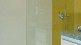 Innenraumgestaltung Badezimmer