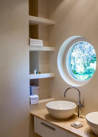 Современный Ванная комната by Thomas Kampeter - Wandgestaltung