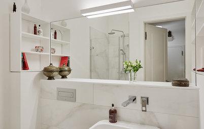 Ausgedehnt und verschoben: 5 Beispiele für mehr Bad
