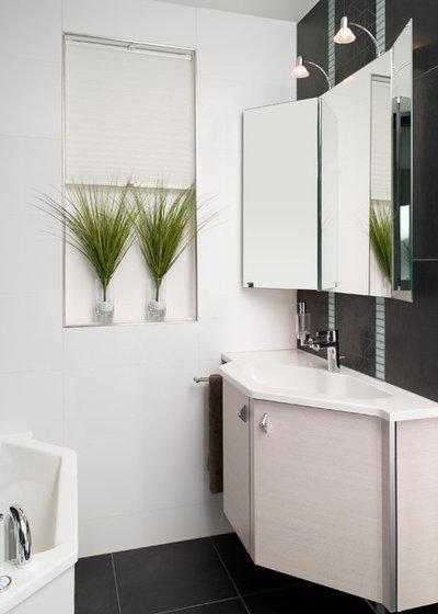10 astuces de pro pour optimiser une petite salle de bains. Black Bedroom Furniture Sets. Home Design Ideas