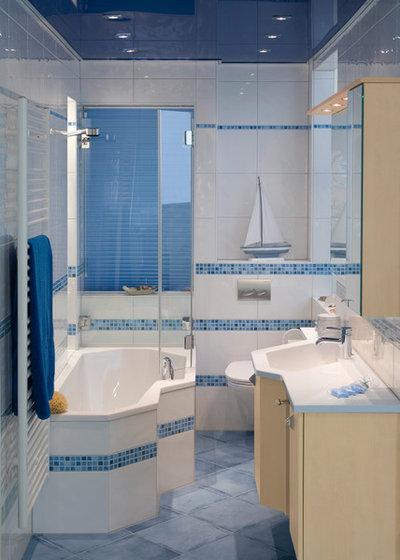 Maritim Badezimmer by miniBagno – Badkultur auf kleinem Raum