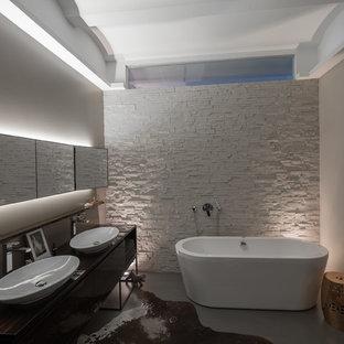 Salle d\'eau moderne Nuremberg : Photos et idées déco de salles d\'eau