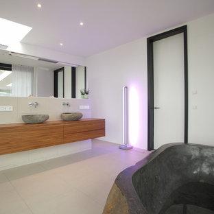 Badezimmer mit weißer Wandfarbe Ideen, Design & Bilder | Houzz