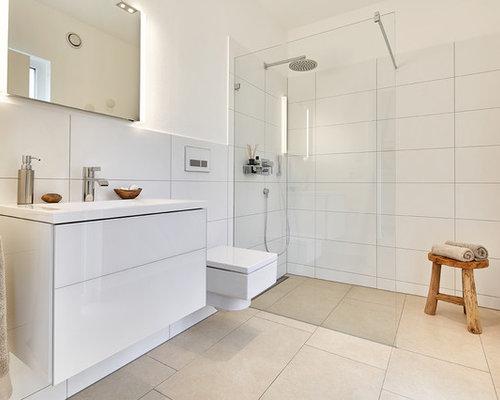 skandinavische duschb der ideen design bilder houzz. Black Bedroom Furniture Sets. Home Design Ideas