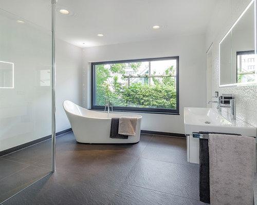 moderne badezimmer ideen beispiele f r die badgestaltung houzz. Black Bedroom Furniture Sets. Home Design Ideas