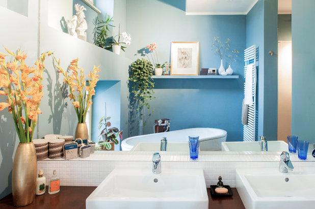 Contemporary Bathroom by Luca Girardini - Photos