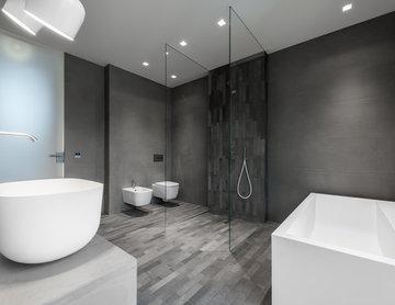 Masterbad - Dusche, WC, Bidet, Wanne und Waschtisch