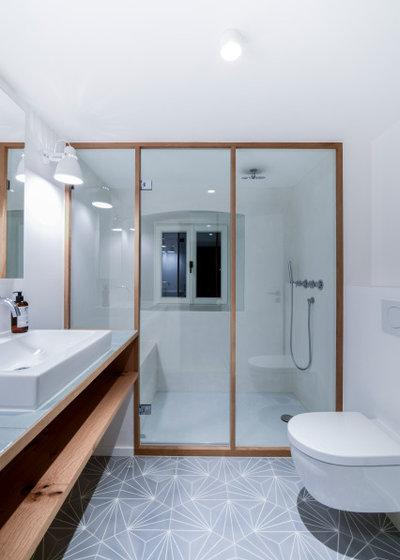 Рустика Ванная комната by BUERO PHILIPP MOELLER