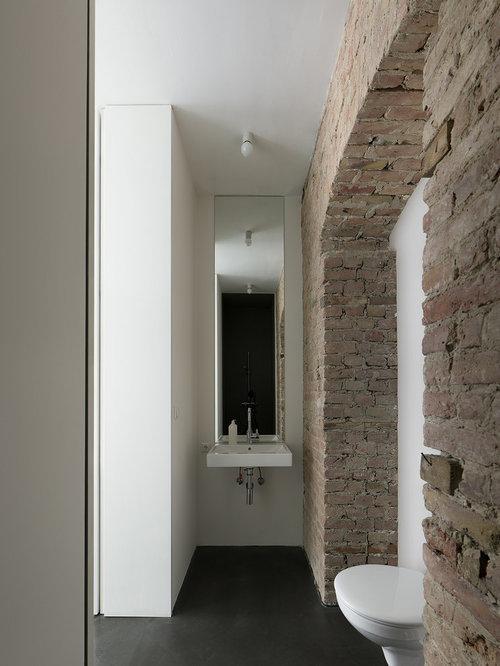 Rustikale Badezimmer Klinker Ideen & Beispiele für die ...