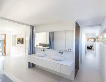 Minimalistisch Badezimmer