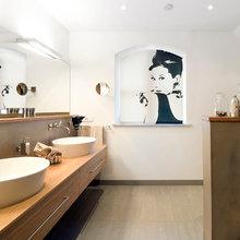 Wohlfühloase in warmen Farben - Modern - Badezimmer ...