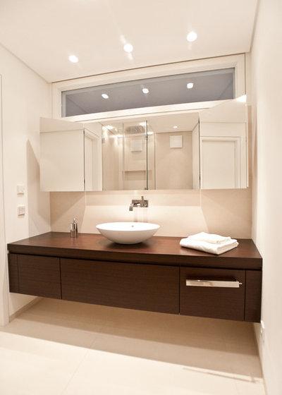 Contemporáneo Cuarto de baño Modern Badezimmer