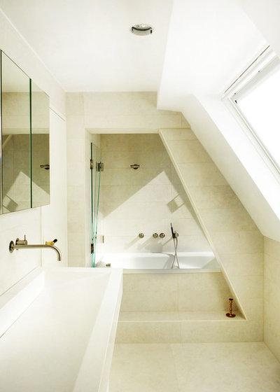 12 tricks wie sie mini b der optisch vergr ern for Mini badezimmer ideen