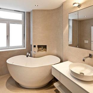 Badezimmer mit Granit-Waschbecken/Waschtisch Ideen, Design & Bilder ...