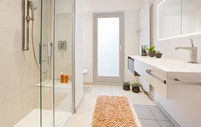 Ebenerdige Dusche einbauen: Voraussetzungen und Aufwand