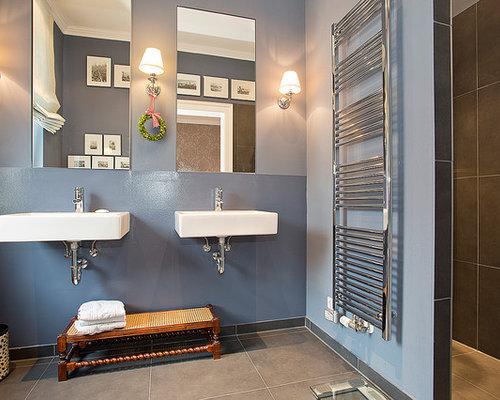 Moderne Badezimmer - Design-Ideen & Beispiele für die Badgestaltung | {Badezimmer design fliesen grau 98}