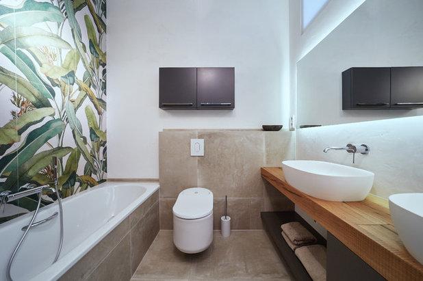 Modern Badezimmer by Bäderwerkstatt Tanke
