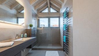 Modernisiertes Badezimmer für neu erworbenen Alterswohnsitz