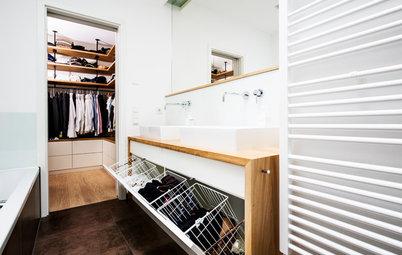 Wohin mit der Schmutzwäsche? 11 smarte Ideen