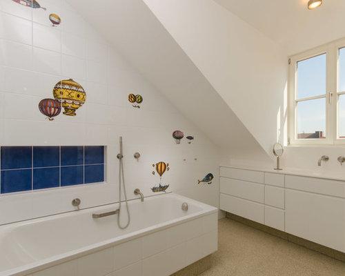 moderne kinderb der design ideen beispiele f r die badgestaltung. Black Bedroom Furniture Sets. Home Design Ideas