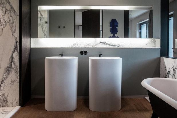 Modern Badezimmer by Gnädinger Architekten