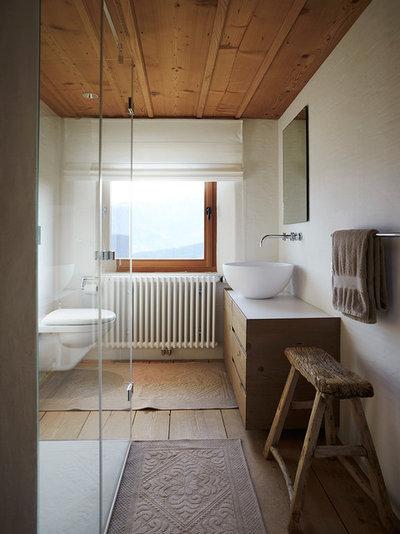Rústico Cuarto de baño by Meier Architekten