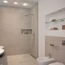 Wandnische Modern Badezimmer Berlin Von Goldmann