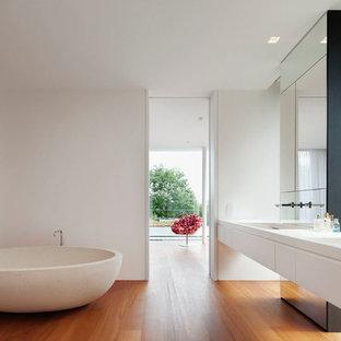 Badezimmer Mit Integriertem Waschbecken Ideen Design Bilder Houzz