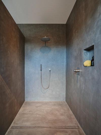Moderno Stanza da Bagno by HONEYandSPICE innenarchitektur + design