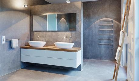 Sinnvoll separiert: 7 Ideen für Trennwände im Bad