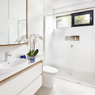 Photo of a scandinavian bathroom in Geelong.