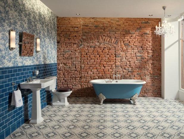 Industrial Bathroom by TRADITIONAL BATHROOMS