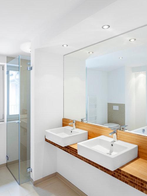 Badezimmer Mit Aufsatzwaschbecken Ideen Design Bilder Houzz