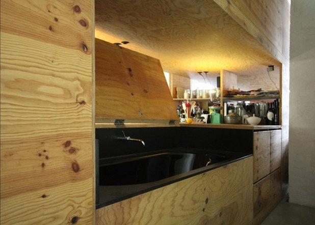 Contemporaneo Stanza da Bagno by studio lot Architektur | Innenarchitektur