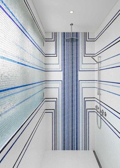 Contemporary Badrum by franke architekten