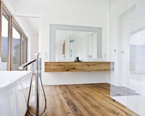 Badezimmer Holzboden