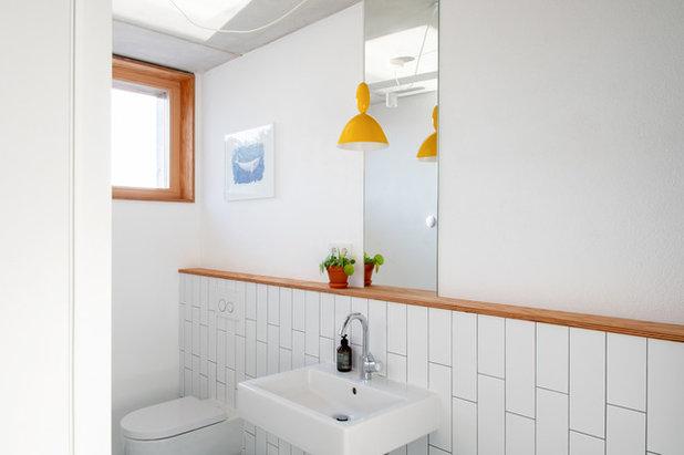 Skandinavisch Badezimmer by PW.QUADRAT Wagner Weinzierl Architekten PartG mbB