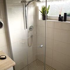Dusch  Wannenbad Auf Kleinstem Raum