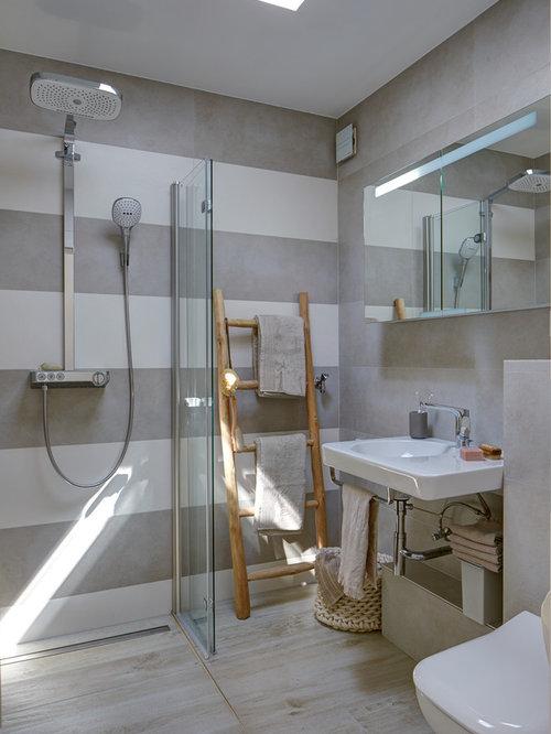 skandinavische badezimmer: design-ideen & beispiele für die, Badezimmer