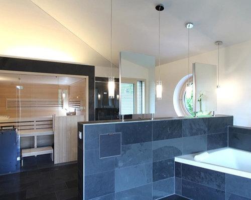 Moderne badezimmer design ideen beispiele f r die - Locher in fliesen ...