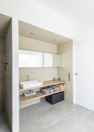 Contemporáneo Cuarto de baño by Architekturbüro msm Schneck