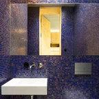 Creighton Farm South Powder Room Traditional Bathroom