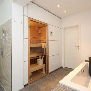 Idées déco pour un sauna classique.