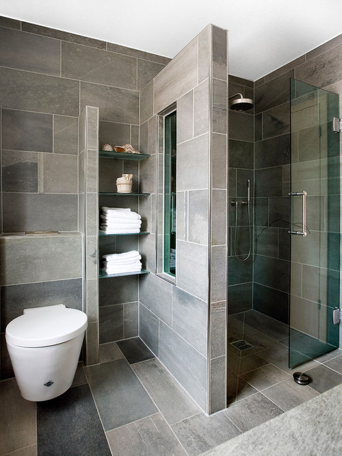 Bathroom Design Ideas Pictures 1 tag estimate 13500 contemporary full bathroom with tiled wall showerbath limestone counters undermount sink built Bathroom Design Ideas Remodels Photos With Stone Slab