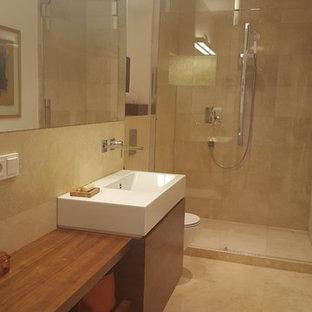 Schlauchbad mit Dusche