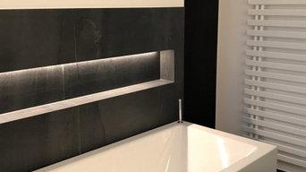 Schwarz-Weiß-Modern