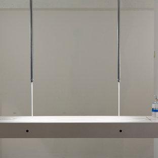 Salle de bain avec des plaques de verre Hambourg : Photos et ...