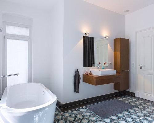 Skandinavische Badezimmer: Design-ideen & Beispiele Für Die ... Skandinavische Badezimmer