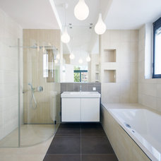 Contemporary Bathroom by bau/raum - design